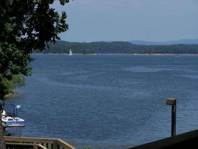 Photo for Waterfront, Lake-View Condominium on Ouachita at Mountain Harbor