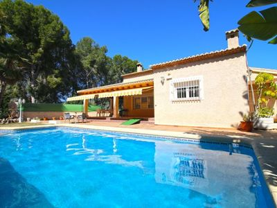 Photo for 3 bedroom Villa, sleeps 7 with Pool, Air Con, WiFi and Walk to Beach & Shops
