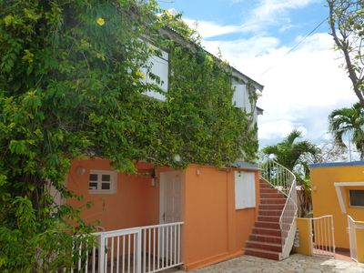 Photo for Spacious sea view loft, up to 6 people. Dampierre, Gosier