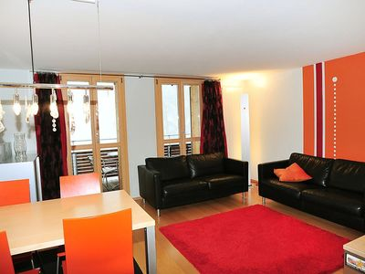 Photo for Apartment 439 m from the center of Lauterbrunnen with Internet, Washing machine, Balcony (125383)