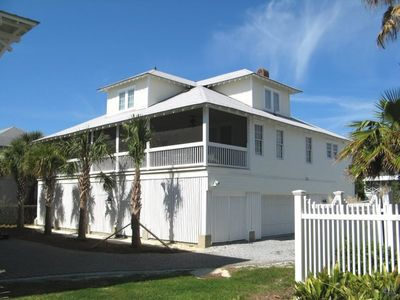 Photo for Both Classic And Contemporary Tybee Beach House Just Steps To The BeachFree WiFi