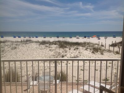 Photo for July 26-29 JUST REDUCED!   Beach Front/Sleeps 10!