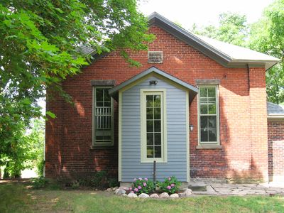 Photo for Charmingly Restored, Converted One-Room Brick Schoolhouse