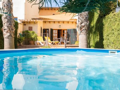 Photo for Can Olivera - Beautiful townhouse with private pool in Llubí
