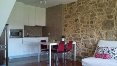 Photo for Apartment inside the castle of Valença
