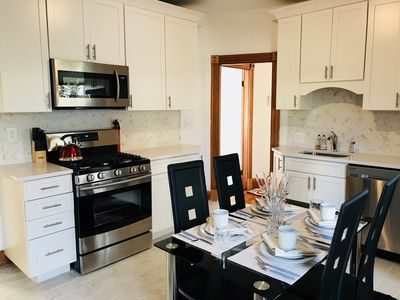 Gorgeous chef's gourmet kitchen to cook, enjoy champagne brunch or coffee break
