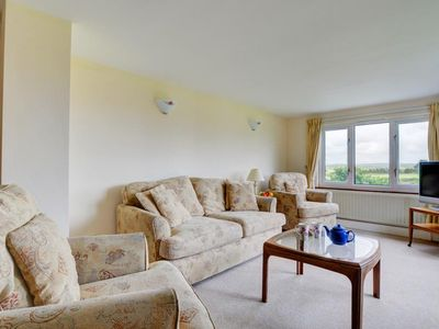 Photo for Light and spacious apartment with a view of the beautiful Cornwall nature