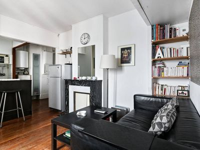 Photo for Cosy 1 bedroom flat with nice view Paris