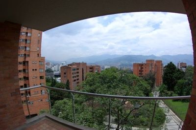 View of City and Mountains