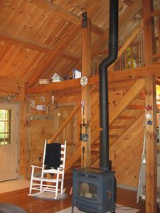 Photo for Adorable Cozy Log Cabin - Check out our Spring Special!!!