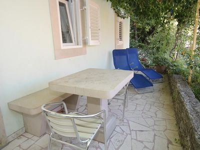 Photo for One bedroom apartment with terrace Korčula (A-9267-a)