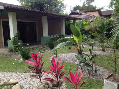 Photo for Airy house and near the beach, Itamambuca walk in the sand!