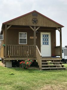 Photo for A spacious cabin set on a peaceful road on the intercoastal here in Matagorda.