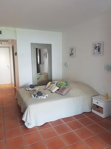 Photo for Studio equipped in beautiful private residence a few steps from the beach and pool