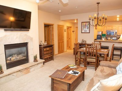 Photo for Charming Condo Steps from the Arrowbahn Ski Lift Prime Location!!