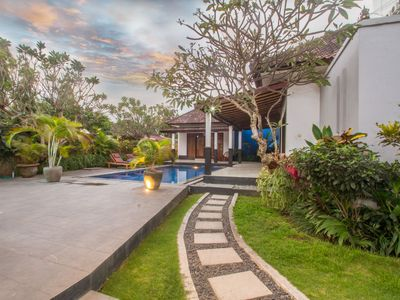 Photo for New 3 Bedrooms Villa, Great location in Canggu