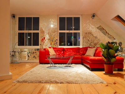 Photo for Stunning and Arty Penthouse Flat near Borough Mark