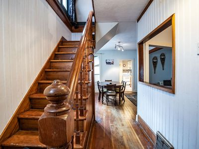 Photo for Snowshoe Pete's Mountain Retreat: Cosy, Downtown Heritage Home