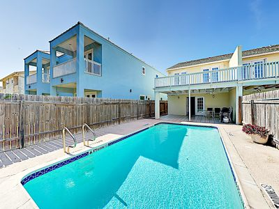 Photo for New Listing! Spacious Island Getaway w/ Private Pool, Walk 350 Yards to Beach