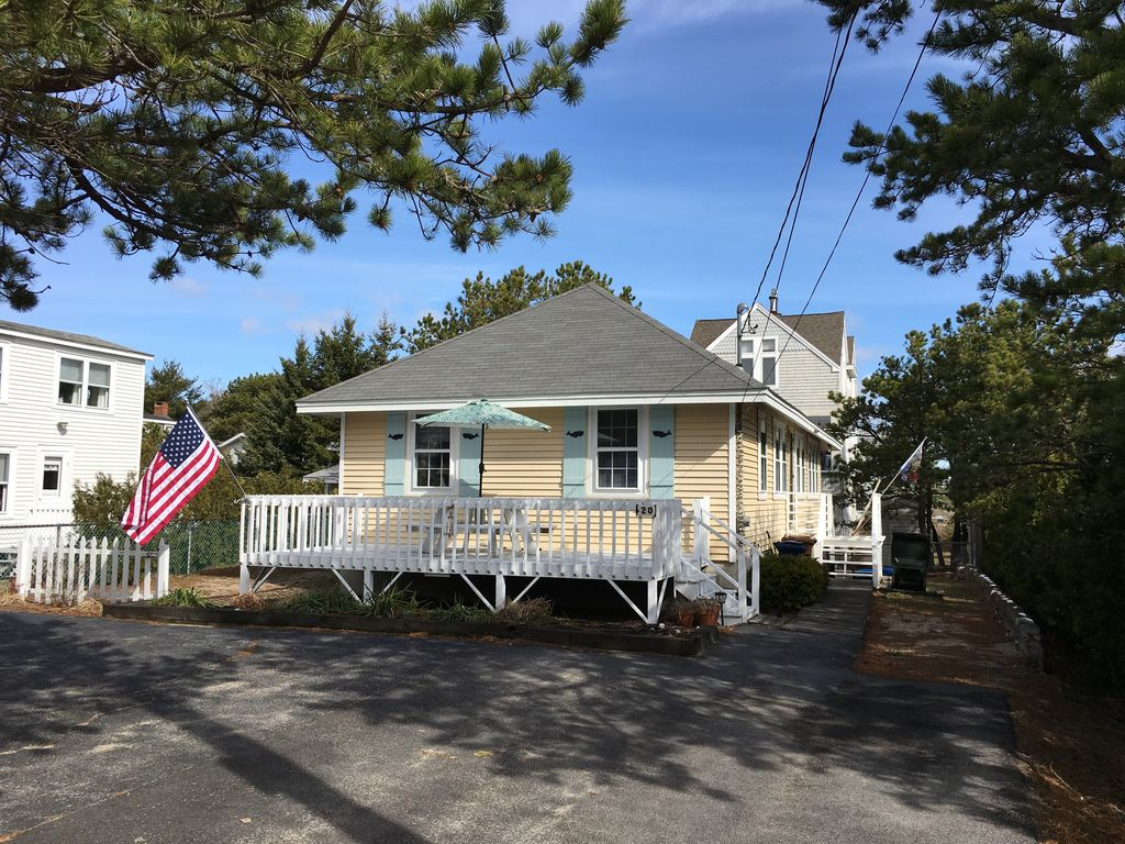 Charming Ocean View Cottage   2nd House Back From Ferry Beach! Saco House  Rental