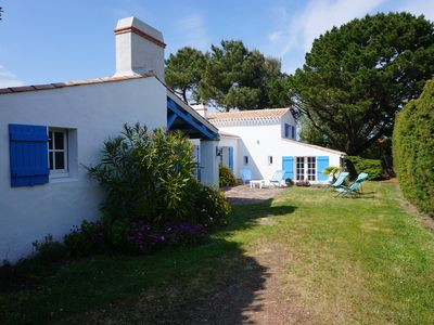 Photo for Large Villa in Noirmoutier Island at Le Vieil. Close beach and village.