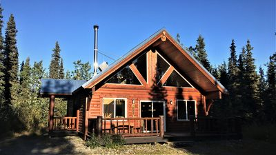 Photo for Silver Salmon Lodge, Jacuzzi Tub, Luxury Amenities, Chefs Kitchen, and more!!