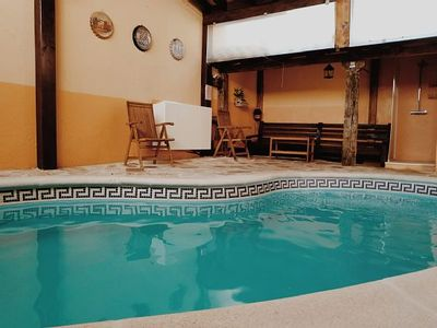 Photo for Rural house (full rental) with heated pool for 22 people