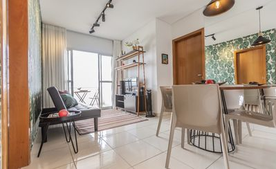 Photo for 02 QTO apartment in the Goiabeiras neighborhood. All furnished. Incredible view.