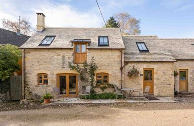 Photo for Oyster Barn is a beautifully converted barn, in the lovely Cotswold village of Naunton