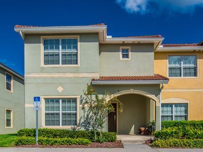 Photo for Luxury on a budget - Paradise Palms Resort - Feature Packed Cozy 5 Beds 4 Baths Townhome - 4 Miles To Disney