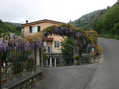 Photo for A house between sea and hills to enjoy the holiday immersed in nature