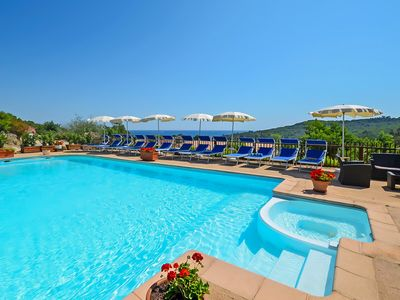 Photo for Luxurious villa 6P sea view beach 500M on Residence with swimming pool