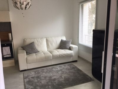 Photo for New studio equipped with terrace and closed garage in basement, s in Cannes,