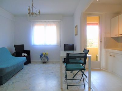 Photo for French riviera apartment of 42m2 with parking and wifi