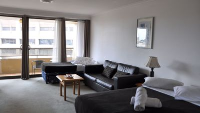 Photo for Sydney CBD Large Studio Apartment with Balcony