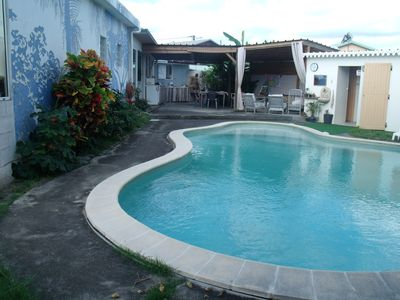 Photo for Kaz homestay spacious, independent, tropical garden, swimming pool.