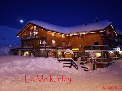 Photo for Appartment rental in a Chalet   La Rosière 1850
