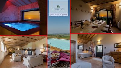 Photo for 5BR Farmhouse Vacation Rental in Pienza, Siena