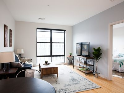 Photo for Delightful 1BR in Seaport by Sonder
