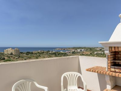 Photo for Praia da Rocha Sea View with Balcony apartment in Portimão with WiFi, air conditioning & balcony.