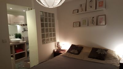 Photo for Bedroom with bathroom and toilet 10 minutes from the Velodrome stadium