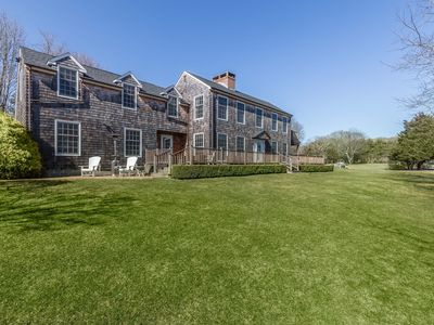 Photo for Private 3 acres with pool, golf, basketball ...in Sag Harbor village