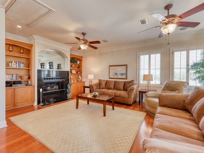 Photo for Beautiful Gulf-front home w/ private beach, enclosed yard, patio & balcony!