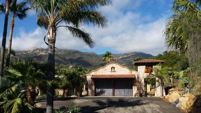 Photo for Spanish Mission Style Home with Pool - Away from Coastal Fog