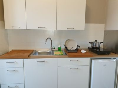 Photo for Apartment with large terrace and parking space. Lake view and free Wifi