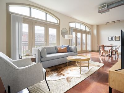Photo for Sonder | Ballpark Lofts | Stunning 1BR + Pool