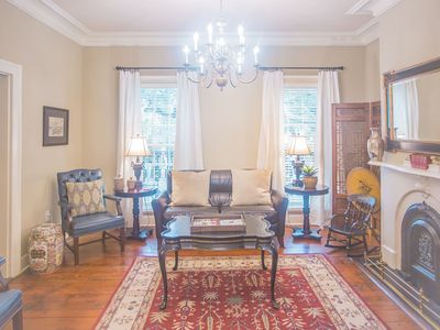 Photo for Stay with Lucky Savannah: Historic family home on with private parking!