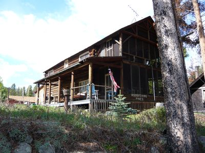 Photo for Lake Front Property - 4 Bedroom, Sleeps 8, Boat Slip, Lake Front & Sun Deck.