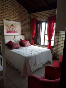 Photo for In the beach, 90m from the sea, air conditioning, WIFI, 5 bedrooms