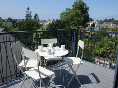 Photo for One bedroom Apartment, sleeps 4 in Dinard with WiFi